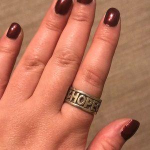 Faith, Hope, Love Ring